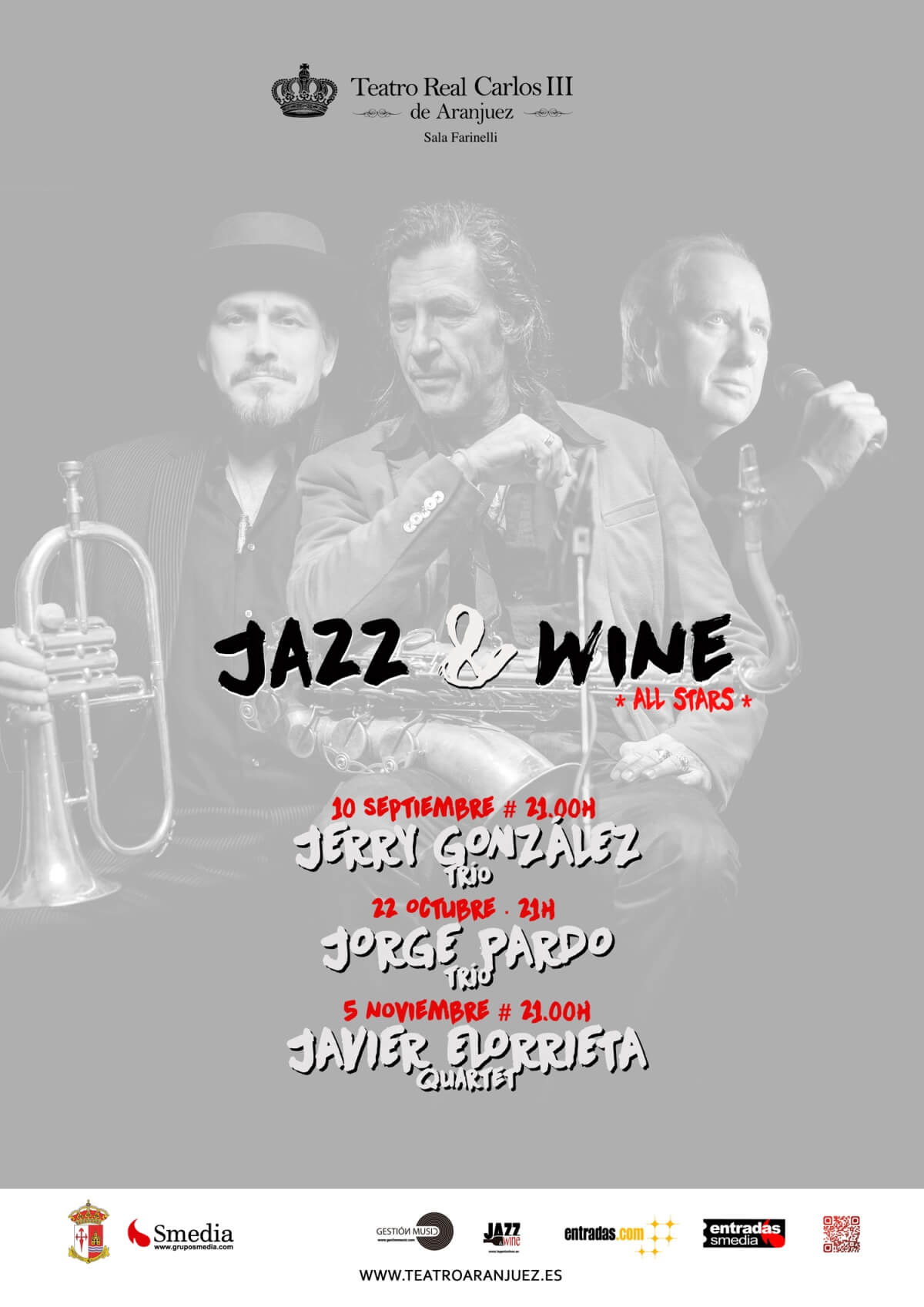 Ingenia Jazz & Wine All Stars 2016